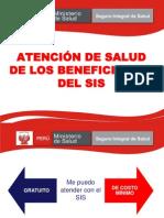 2 Atencion de Salud a Beneficiarios Del SIS