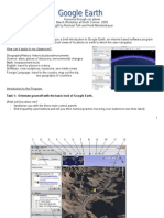 Google Earth Worksheet