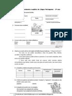 Revisões de conhecimento explícito da Língua Portuguesa -5º ano