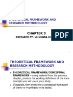 Chapter 3 - Theoretical Framework and Research Methodology
