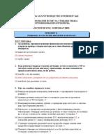 Predmet 8-Revizija i Sistemi Interne Kontrole - RJESENJE Novembar_09