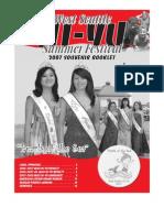 2007 Hi-Yu Summer Festival Souvenir Book