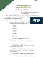 Lei 12.683-2012 [Altera Lei 9.613-1998 - Lavagem de Dinheiro]