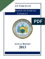 Judicial Conduct 2012 Report