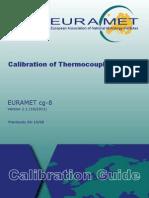 01 EURAMET Cg-8 v 2.1 Calibration of Thermocouples