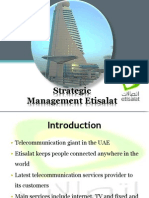 Strategic HRMEtisalat Presentation