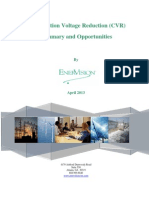 CVR Summary and Opportunities 041813