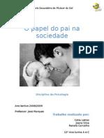 o Papel Do Pai- Psicologia ( Trabalho escrito)