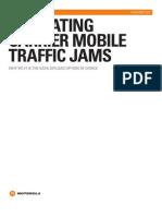 Mitigating Carrier Mobile Traffic Jams White Paper