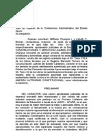 AMPARO AUTONOMO (Dcho. y Accion de Habeas Data)