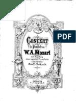 Mozart Piano Concerto 20 K466 I