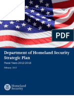 Dhs Strategic Plan Fy 2012 2016