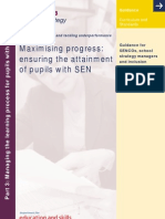 Maximising Progress - Ensuring the Attainment of Pupils With SEN - Part 3 2004