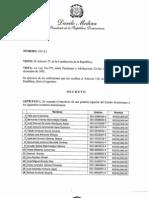 Decreto 110-13