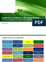 The Human Aspects of Energy Management