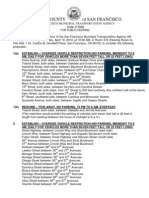SFMTA oversize vehicle restriction hearing April 19, 2013