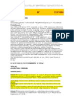 Resolución N 231-1996