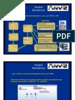 Conexión de Equipos Biométricos Anviz con el  PC