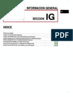 001[Manual] Nissan Tsuru 91-96 - Serie B13 Motor E16S (Carburado) - Informacion General