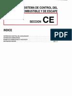 006[Manual] Nissan Tsuru 91-96 - Serie B13 Motor E16S (Carburado) - Sistema de Control Del Motor de Combustible y de Escape