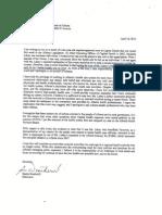 Weatherill & Wachowich Letters