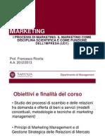 Unità didattica 1 corso di marketing