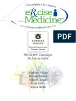 Exercise is Medicine Campaign