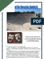 Teatrul din Grecia Antică - eseu