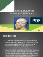 Funciones Superiores Memoria