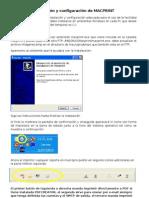 Instalación y configuración de MACPRINT