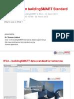 BuildingSMART IFC4 What is New