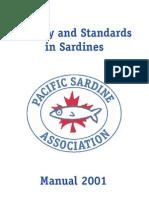 Manual de calidad para el proceso de Sardina Congelada