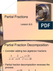 Lesson8.5PartialFractions