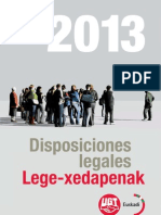 Disposiciones 2013 DEFINITIVAS