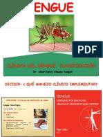 CLÍNICA DEL DENGUE-CLASIFICACION