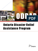Program Guidelines for Disaster Funding in Ontario