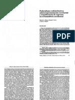 Gibson, Calvo y Falleti - Federalismo redistributivo y sobrerrepresentación terriororial