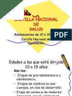 cartilla vacunacion