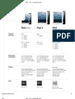 Apple — iPad — Compare iPad models