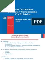 Orientaciones al docente para implementar Bases Curriculares Lenguaje y ComunicaciÃ_n 2012