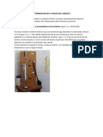 Determinacion de La Finura Del Cemento - Metodo Blaine