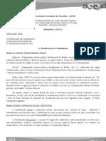 Unidade Tres - Direito Constituiconal a Classificacao Das Constituicoes a Supremacia a Const. de 1988
