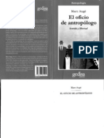Auge Marc El Oficio de Antropologo Sentido y Libertad 2006