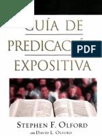 Stephen F. Olford - Guía De Predicación Expositiva x eltropical (1)