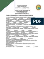 Examen Ecologia. Primer Parcial 2012-2013b Contestado