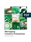Managing Creative Enterprises - booklet no. 3 World Intellectual Property Organization WIPO 2006