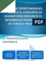 QUÉ OPORTUNIDADES OFRECE EL CONJUNTO DE ASIGNATURAS
