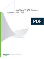 AR Forrester Wave SAP Services Providers Q2 2011