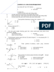 Soal Sudut Matematika SMP Kelas 8