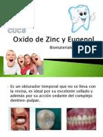 Oxido de Zinc y Eugenol EXPO